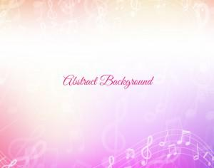 Abstract Music Background Photoshop brush