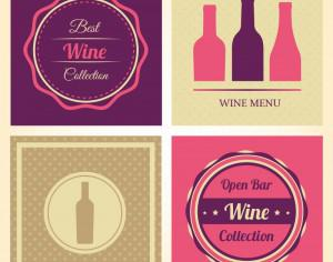 Vector Wine Labels Photoshop brush
