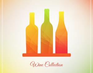 Vector Wine Bottles  Photoshop brush