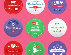 Valentine's Day Icon Pack Photoshop brush