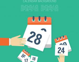 Vector Calendar Background Photoshop brush