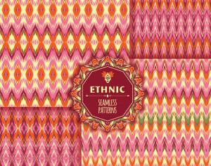 Ethnic seamless pattern Photoshop brush