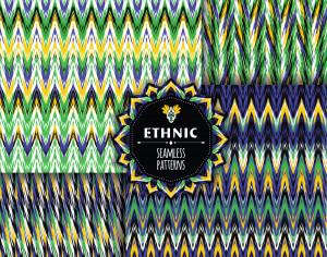 Ethnic seamless pattern Photoshop brush