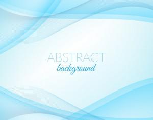 Abstract blue wave background Photoshop brush