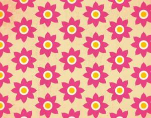 Floral pattern Photoshop brush