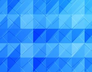 Abstract Blue Shapes Photoshop brush