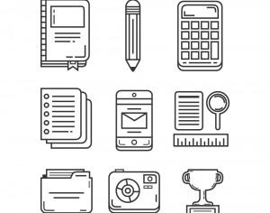 Education and Research Icon Pack Photoshop brush