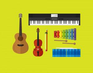 Musical Instruments  Photoshop brush