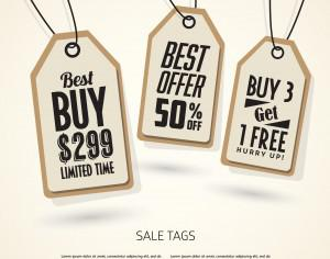 Sale Tags Design Photoshop brush