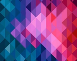Vector geometric background Photoshop brush