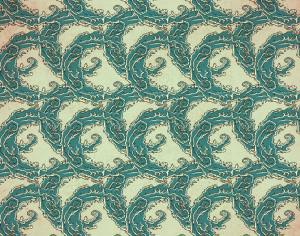 Vintage japanese pattern with waves Photoshop brush