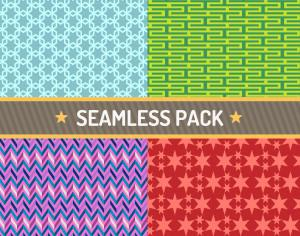 Vector seamless pattern vector illustration pack Photoshop brush