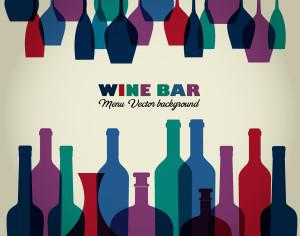 Wine abstract illustration Photoshop brush