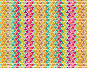 colorful triangular pattern design Photoshop brush