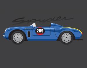 Porsche Spyder Photoshop brush