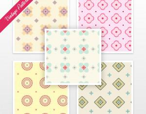 Vintage Pattern Set Photoshop brush