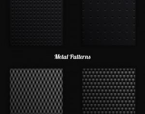 Metal Vector Patterns Photoshop brush