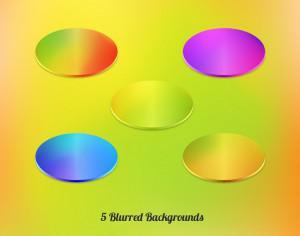Vector Blurred Backgrounds Set Photoshop brush