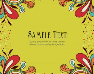 Doodle vector illustration  with typography Photoshop brush