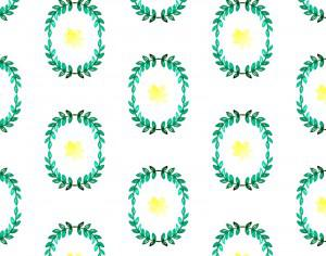 Watercolor pattern Photoshop brush