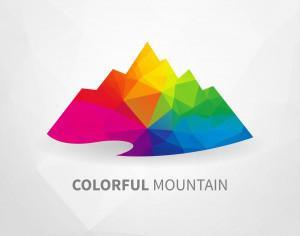 Colorful Mountain Photoshop brush