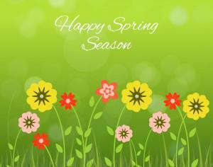 Spring Season Photoshop brush