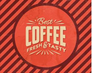 Vintage Coffee Background Photoshop brush