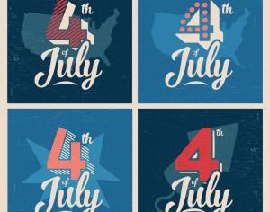 4th of July Background Photoshop brush