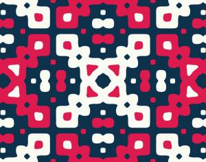Red, White, and Blue Quilt Pattern Photoshop brush
