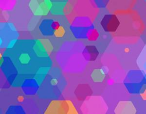 Colorful Abstract Shapes Photoshop brush