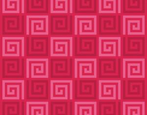 Red Spirals Pattern Photoshop brush