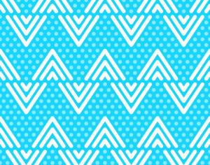 Blue Dots and Lines Pattern Photoshop brush
