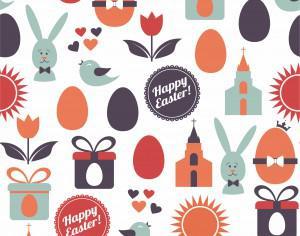 Easter illustration Photoshop brush