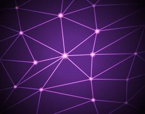 Purple geometric background Photoshop brush