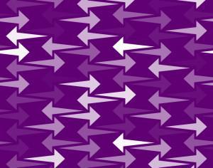 Purple Arrows Pattern Photoshop brush