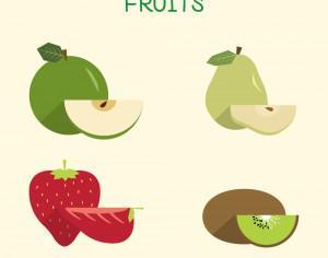 Fruit Illustration Photoshop brush