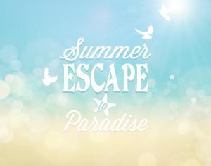 Summer poster Photoshop brush