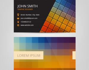 Modern Abstract Business Card Photoshop brush