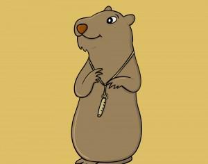 Marmot and Its Whistle Photoshop brush