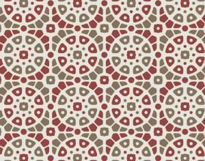 Mosaic Red and Green Pattern Photoshop brush
