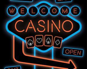 Casino Neon Sign Photoshop brush
