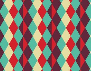Abstract geometric pattern Photoshop brush