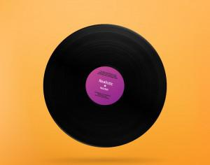 Realistic Vinyl Record Photoshop brush