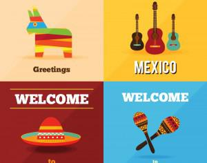 Welcome to Mexico  Photoshop brush