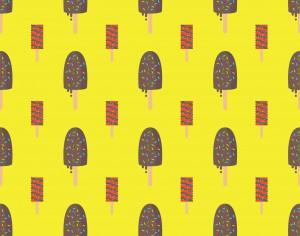 Ice Cream Pattern Background Photoshop brush