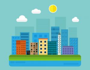 City Illustration Photoshop brush