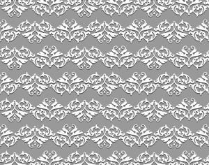 Damask seamless floral pattern Photoshop brush