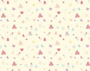 Cute baby pattern Photoshop brush