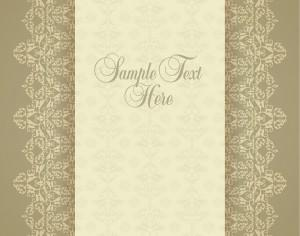 Design template in vintage style Photoshop brush