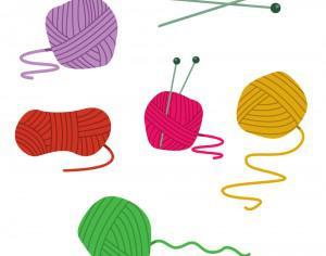 Colorfull Ball Of Yarn Vectors Photoshop brush